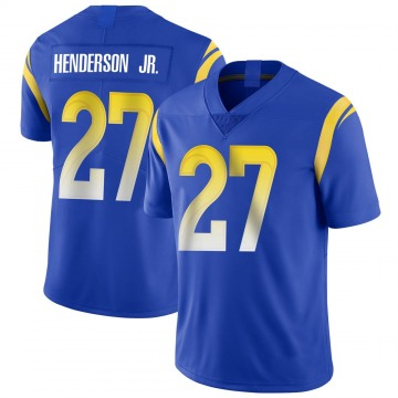 Youth Los Angeles Rams Darrell Henderson Royal Limited Alternate Vapor Untouchable Jersey By Nike