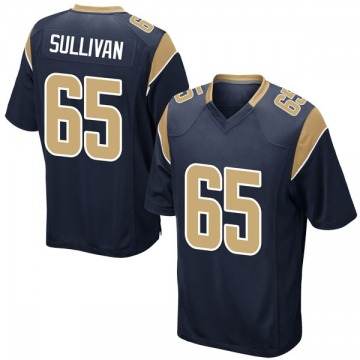 Youth Los Angeles Rams John Sullivan Navy Game Team Color Jersey By Nike