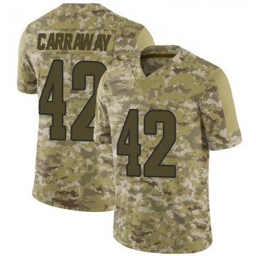 Youth Los Angeles Rams Josh Carraway Camo Limited 2018 Salute to Service Jersey By Nike