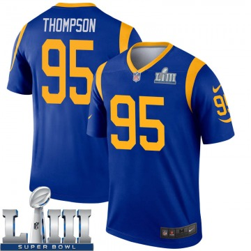 Youth Los Angeles Rams Tyrell Thompson Royal Legend Super Bowl LIII Bound Jersey By Nike